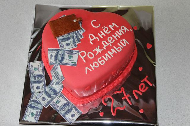 Сделать торт мужу на день рождения